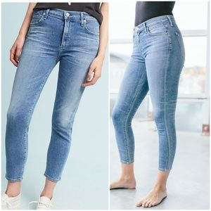 COH Rocket Crop High Rise Skinny sz 24 EUC